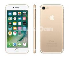iPhone 7 128gb gold colour