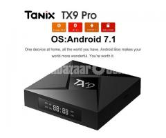 Tanix TX9 Pro S912 Octa Core Android 7.1 TV Box