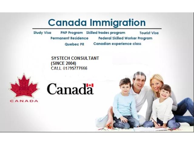 CANADA IMMIGRATION - 1/3