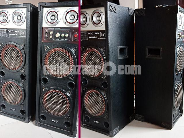 Kenlong PMPO 1500W Sound System - 1/4