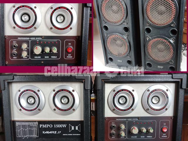 Kenlong PMPO 1500W Sound System - 3/4