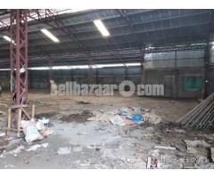 28000 sqft shed for rent  at rupganj