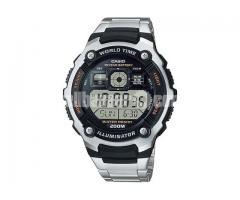 WW0019 Original Casio World Time Digital Watch AE-2000WD-1AV