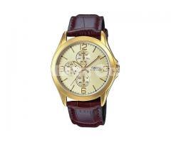WW0025 Original Casio Unisex Belt Watch MTP-V301GL-9A