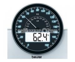 Beurer GS58 Dual Function (Digital+Analog) Weight Scale / Bathroom Scale (Germany)
