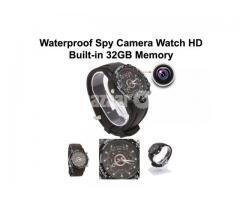 Spy Camera Watch Built-in 32GB Memory Waterproof