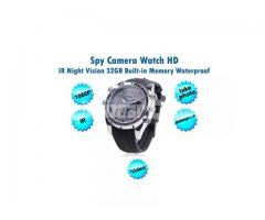 Spy Camera Watch 32GB IR Night Vision 1080P HD