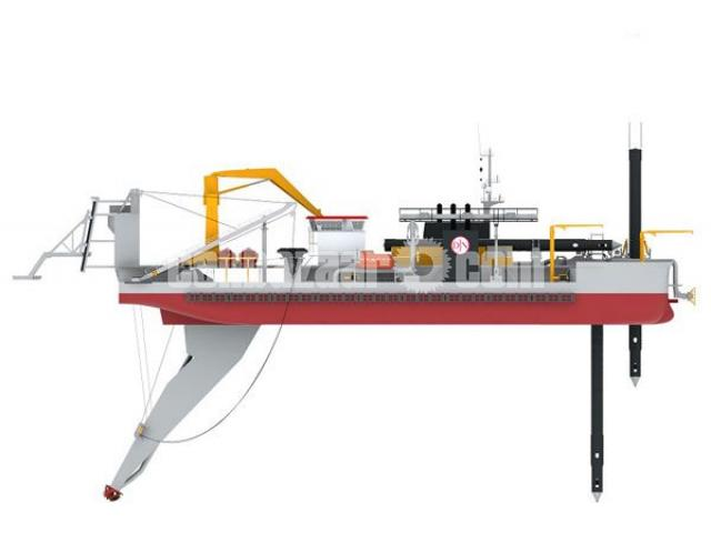 Brand New 20 Inch cutter suction dredger with standard accessories - 1/5