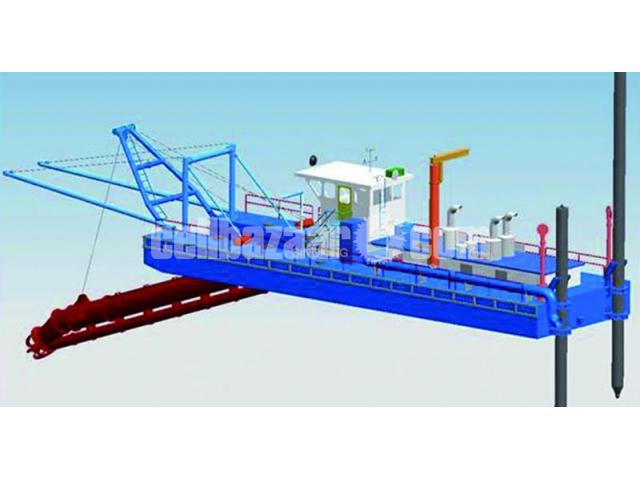 Brand New 20 Inch cutter suction dredger with standard accessories - 3/5