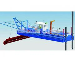 Brand New 20 Inch cutter suction dredger with standard accessories - Image 3/5