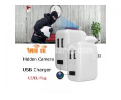 Spy Camera Wifi IP Full HD USB Charger Adapter