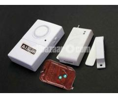 Door window magnetic switch anti thief alarm system with remote