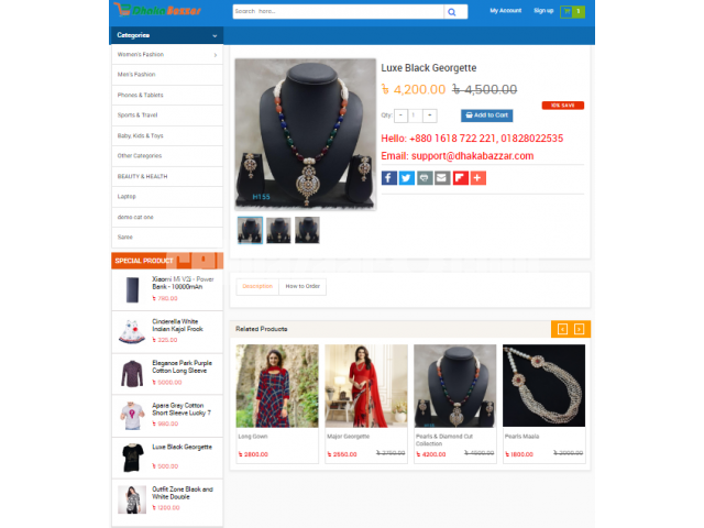 E-COMMERCE WEBSITE & URL BASED ANDROID APPS DEVELOPMEN - 3/4