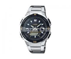 WW0386 Original Casio Tough Solar Dual Time Watch AQ-S800WD-1EV
