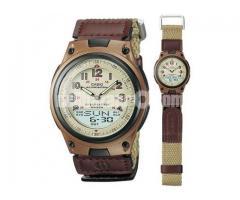 WW0399 Original Casio Youth Dual Time Watch AW-80V-5BV