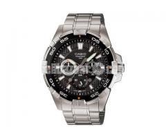 WW0404 Original Casio Enticer Stainless Steel Watch MTD-1069D-1AV