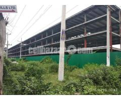 1 lac square feet shed for rent