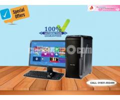 """Core 2 Dou_HDD 250GB_RAM 4GB DDR2 With 17"""" LED (Circle)"""