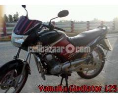 yamaha gladiator 125 2010