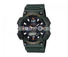 WW0441 Original Casio Tough Solar Dual Time Watch AQ-S810W-3AV