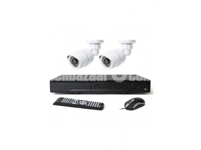 HD-CVI 04 Channel DVR With 02 Units HD-CVI 720p Camera - 1/1