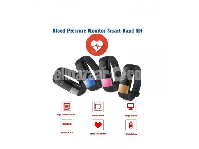 Blood Pressure Monitoring Smart Watch M4 - 1/5