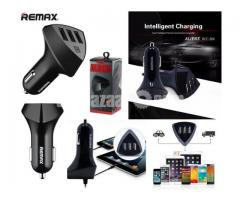 Remax RCC-304 (4.2A) Aliens 3 USB Port Car Charger - Image 4/5