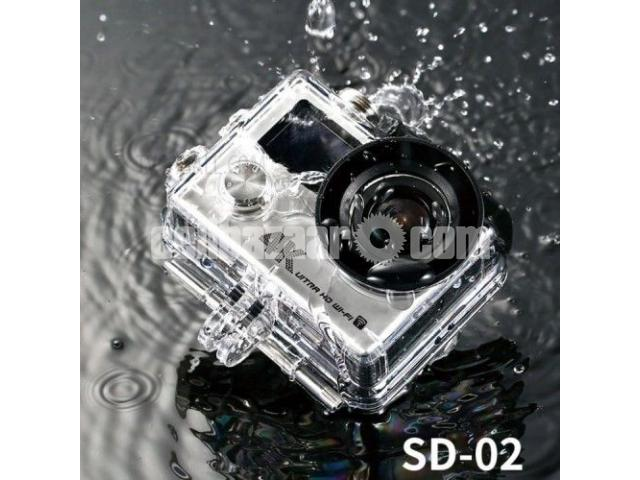Remax 4K Waterproof WiFi Action Camera SD-02 - 1/5
