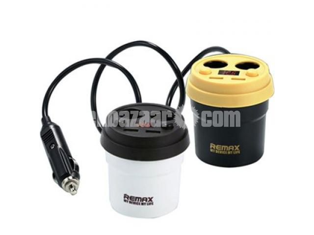 REMAX Demitasse 2USB Car Charger 3.1A CR - 2XP - 1/5