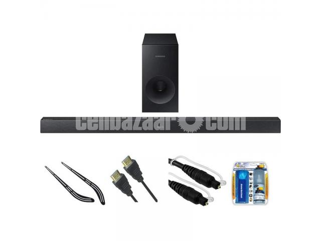 Samsung HW-J355 2.1 Channel 120 Watt Wired Audio Soundbar - 3/4