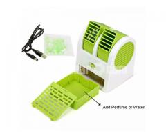 AIR CONDITIONER MINI PERFUME USB FAN
