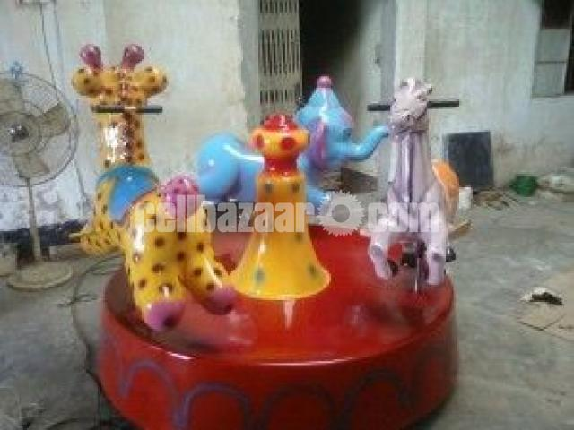 Three In One Kiddy Ride | Theme Park Equipment Manufacturer - 1/4