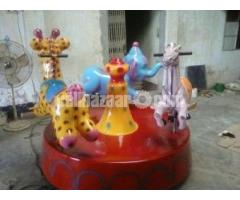 Three In One Kiddy Ride | Theme Park Equipment Manufacturer