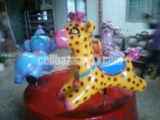 Three In One Kiddy Ride | Theme Park Equipment Manufacturer - 2/4