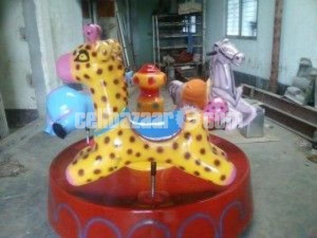 Three In One Kiddy Ride | Theme Park Equipment Manufacturer - 4/4
