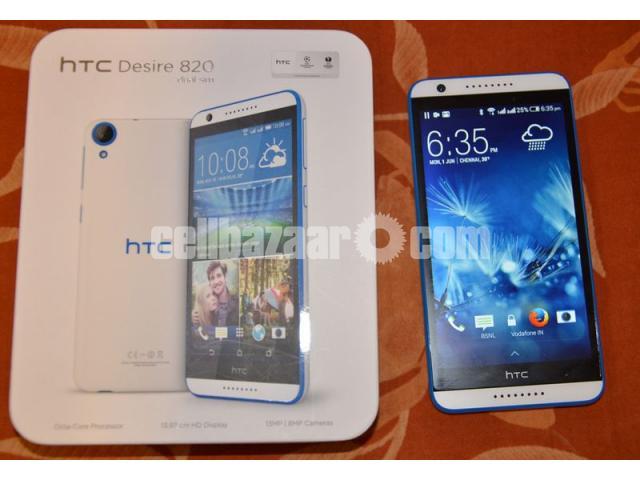 HTC Desire 820 New Full Box - 5/5