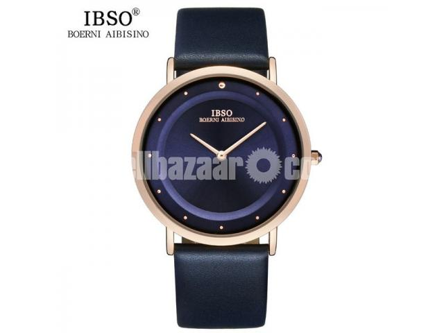 WW0478 Original IBSO Slim Watch 8160G - 1/5