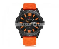 WW0563 Original Naviforce Day Date Watch 9066