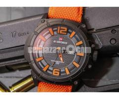 WW0563 Original Naviforce Day Date Watch 9066 - Image 3/3