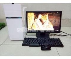 "Core_i7 Desktop_8Gb_1Tb_5Gb GfX_21"" HD - Image 3/4"
