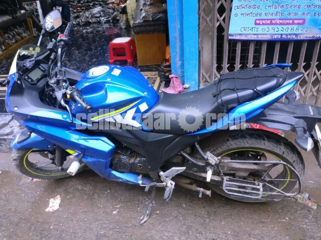 Suzuki Gixxer Sf DD Moto Gp 155 cc for sale - 1/3