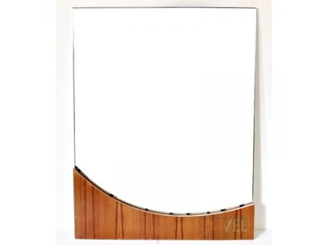 Curve Border Mirror Frame - 1/2