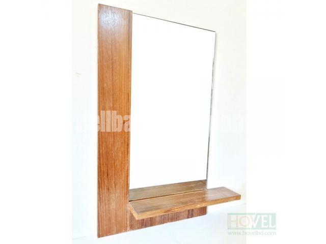 Half Border Mirror Frame with Shelf - 2/2