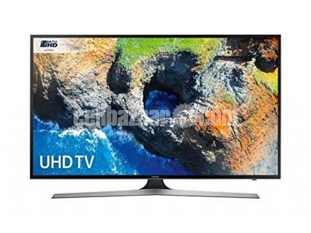 "Samsung MU6100 50"" Series 6 Flat 4K UHD Smart LED TV - 1/1"