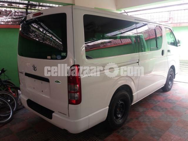 Toyota Hiace GL Pkg White Color - 2/3