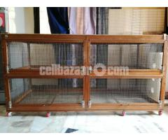 wooden cage(খাঁচা)for guinea pig, rabbit, fancy bird
