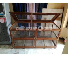 wooden cage for guinea pig, rabbit, fancy bird - Image 4/5
