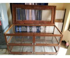 wooden cage for guinea pig, rabbit, fancy bird - Image 5/5