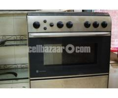 GE Gas Oven