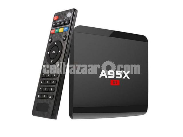 A95X R1 Smart Android 7.1.2 TV Box - 1/5